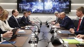 Михаил Мишустин провёл встречу с Президентом Группы Всемирного банка Дэвидом Мэлпассом