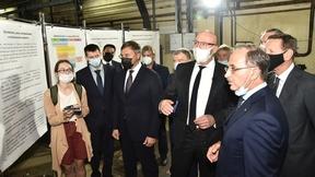 Дмитрий Чернышенко  посетил Институт ядерной физики им. Г.И. Будкера
