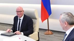 Дмитрий Чернышенко  на заседании организационного комитета по подготовке и проведению VIII Международного форума технологического развития «Технопром-2021»
