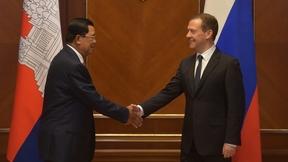 Беседа с Премьер-министром Королевства Камбоджа Хун Сеном