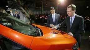 Подпись на капоте автомобиля Ford EcoSport