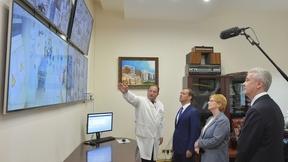 Посещение Морозовской детской городской клинической больницы