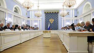 Заседание Правительственной комиссии по вопросам охраны здоровья граждан
