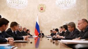 Совещание с представителями компаний-экспортёров и экономическим блоком Правительства