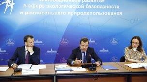 Заседание президиума Совета при Президенте России по модернизации экономики и инновационному развитию