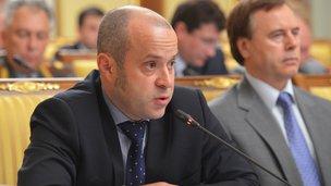 """Diretor de Projetos de Tecnologia da Informação Cluster Fundo """"Skolkovo"""" Albert Efimov na reunião do Governo"""