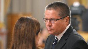 O ministro do Desenvolvimento Econômico Alexei Ulyukayev
