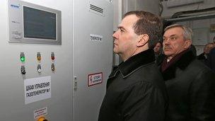 С губернатором Белгородской области Евгением Савченко