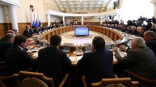 Заседание президиума Совета по модернизации экономики и инновационному развитию России