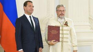 С президентом агропромышленного холдинга «Рузское молоко» Василием Бойко-Великим
