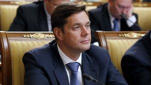 Генеральный директор ОАО «Северсталь» Алексей Мордашов