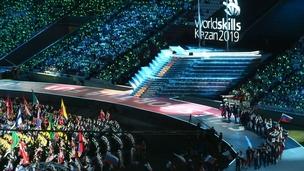 Открытие мирового чемпионата WorldSkills Kazan 2019
