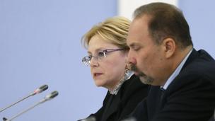Доклад Вероники Скворцовой на заседании Правительственной комиссии по вопросам охраны здоровья граждан