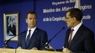 Визит Дмитрия Медведева в Марокко