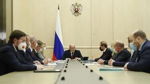 Mikhail Mishustin's meeting with coronavirus vaccine manufacturers