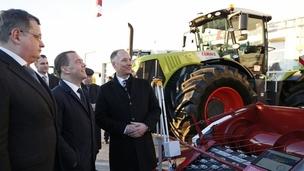 О развитии производства сельхозтехники в рамках реализации нацпроектов