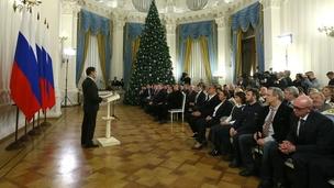 Вручение премий Правительства за 2017 год в области средств массовой информации