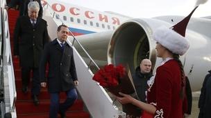 Официальный визит Дмитрия Медведева в Республику Казахстан