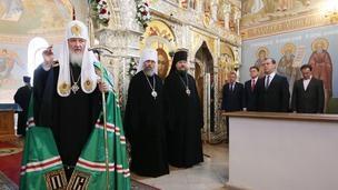 Дмитрий Медведев принял участие в праздничных мероприятиях, посвящённых 700-летию преподобного Сергия Радонежского T3aGXTV4AAE