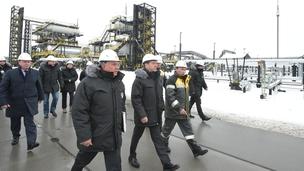 Поездка Дмитрия Медведева в Ханты-Мансийский автономный округ