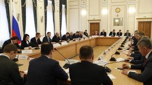 Встреча Михаила Мишустина с членами Совета по стратегическому развитию Курганской области и представителями общественности, 25 февраля 2020 года