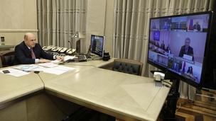 Встреча Михаила Мишустина с руководством фракции КПРФ в Государственной Думе