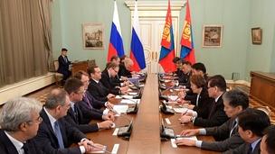 Российско-монгольские переговоры