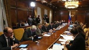 Заседание президиума Совета по стратегическому развитию и приоритетным проектам