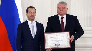 С главой администрации Ставрополя Андреем Хасановичем Джатдоевым