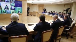 Заседание президиума по национальным проектам