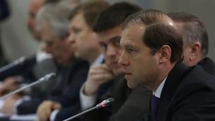 Доклад Дениса Мантурова на заседании президиума Совета при Президенте по модернизации экономики и инновационному развитию России