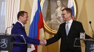 Dmitry Medvedev's visit to Finland