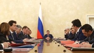 Заседание Наблюдательного совета государственной корпорации развития «ВЭБ.РФ». Брифинг председателя государственной корпорации Игоря Шувалова