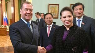 Встреча Дмитрия Медведева с Председателем Национального собрания Социалистической Республики Вьетнам Нгуен Тхи Ким Нган, 11 декабря 2019 года
