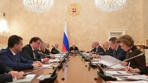 Заседание президиума Координационного совета по борьбе с распространением новой коронавирусной инфекции