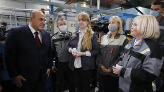 Посещение Чебоксарского производственного объединения имени В.И.Чапаева