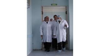Посещение Курганской больницы скорой медицинской помощи