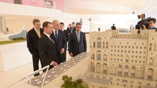Посещение Центра Гейдара Алиева