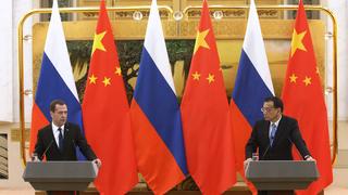 Заявления Ли Кэцяна и Дмитрия Медведева для прессы