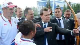 Посещение Республиканской учебно-тренировочной базы «Ока» в городе Алексине