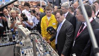 Посещение международной выставки промышленности и инноваций «Иннопром-2012»