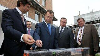 Посещение маслоэкстракционного завода группы компаний «Юг Руси»