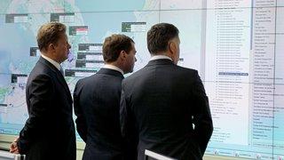 Председатель Правительства Дмитрий Медведев посетил компанию «Газпром межрегионгаз» и ознакомился с работой её оперативно-диспетчерской службы