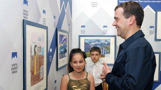Встреча с победителями конкурса детского рисунка «Кем я хочу быть, когда вырасту»