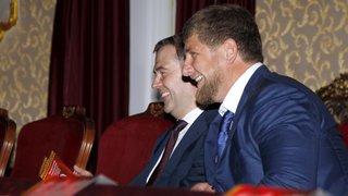 С главой Чеченской Республики Рамзаном Кадыровым