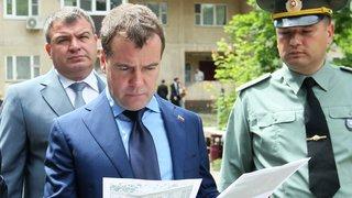 Посещение военного городка Петровское