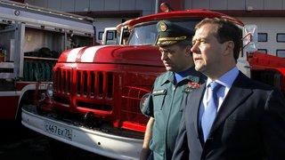 Посещение пожарной части 5-го отряда Федеральной противопожарной службы по Томской области