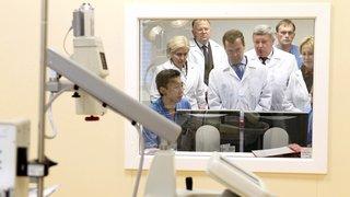Посещение Центра сердечно-сосудистой хирургии