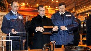 Посещение трубопрофильного завода «Шексна» в Череповце