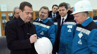 Посещение предприятия «Сибур-Химпром»